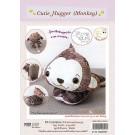 สินค้างานฝีมือ-ชุดคิทงานควิลท์ ชุดคิทควิลท์ ตุ๊กตาไม้หนีบ Cutie Hugger  (Monkey)