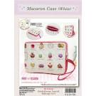 สินค้างานฝีมือ-ชุดคิทงานควิลท์ ชุดคิทควิลท์ งานเย็บกระเป๋าใส่เทปเล็ต Magaron Case(White)