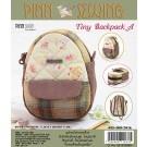 สินค้างานฝีมือ-ชุดคิทงานควิลท์ ชุดคิทควิลท์ งานเย็บกระเป๋า Tiny Backpack (Yellow)