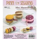 สินค้างานฝีมือ-ชุดคิทงานควิลท์ ชุดคิทควิลท์ งานเย็บกระเป๋าจิ๋ว Mini macarons Set A