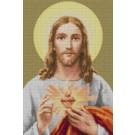 สินค้างานฝีมือ-ครอสติสลายพระเยซู (ภาพสี-มีรัศมี)