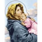 สินค้างานฝีมือ-ครอสติสลายพระแม่มาเรียและพระเยซู (ใหญ่)