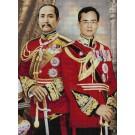 สินค้างานฝีมือ-ครอสติสลายสองพระมหาราชของไทย (สี)