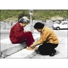 สินค้างานฝีมือ-ครอสติสลายพระพี่นางและสมเด็จย่า (ภาพใหญ่)