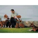 สินค้างานฝีมือ-ครอสติสลายในหลวงและสุนัขทรงเลี้ยง