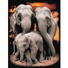 สินค้างานฝีมือ-ครอสติสลายช้างไทย