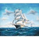 สินค้างานฝีมือ-ครอสติสลายเรือใบ (เล็ก)