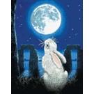 สินค้างานฝีมือ-ครอสติสลายกระต่ายหมายจันทร์