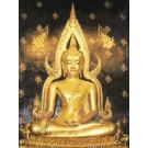 สินค้างานฝีมือ-ครอสติสลายพระพุทธชินราช