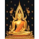 สินค้างานฝีมือ-ครอสติสลายพระพุทธชินราช (ใหญ่)