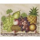 สินค้างานฝีมือ-ครอสติสลายลาย DMC ผลไม้สับปะรด
