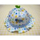 หมวกเด็กอ่อน ลายผลไม้สีม่วง ยี่ห้อ Enfant