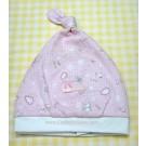 หมวกอุ่นเด็กอ่อน แบบสวมสีชมพู ยี่ห้อ Enfant
