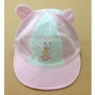 หมวกแก๊บเด็กอ่อน ลายร่มสีชมพู ยี่ห้อ Enfant