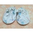 ถุงเท้าเด็กลายจีนสีฟ้า ยี่ห้อ enfant