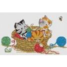 สินค้างานฝีมือ-ครอสติสลายลูกแมวแสนซน