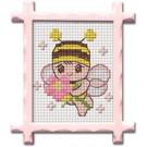 สินค้างานฝีมือ-ครอสติสลายผึ้ง