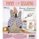 สินค้างานฝีมือ-ชุดคิทควิลท์ งานเย็บที่เก็บกุญแจ Bunny Keycover Quilt
