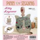 สินค้างานฝีมือ-ชุดคิทควิลท์ งานเย็บที่เก็บกุญแจ Kitty Keycover Quilt