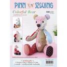 สินค้างานฝีมือ-ชุดคิทควิลท์ งานเย็บตุ๊กตาหมีเล็ก Quilt