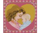 สินค้างานฝีมือ-ครอสติสลายแม่รักลูก