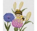 สินค้างานฝีมือ-ครอสติสลายผึ้งน้อยแสนขยัน