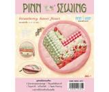 สินค้างานฝีมือ-ชุดคิทควิลท์ งานเย็บกระเป๋าใส่เหรียญ Strawberry Sweet Heart Quilt
