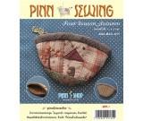 สินค้างานฝีมือ-ชุดคิทควิลท์ งานเย็บกระเป๋าใส่เหรียญ Four Seasons Autumn Quilt