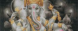 ชุดปักครอสติส ศาสนาพราหมณ์-ฮินดู