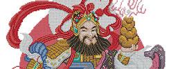 ชุดปักครอสติส เทพเจ้าจีน
