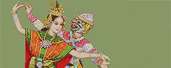 ชุดปักครอสติส วัฒนธรรมไทย